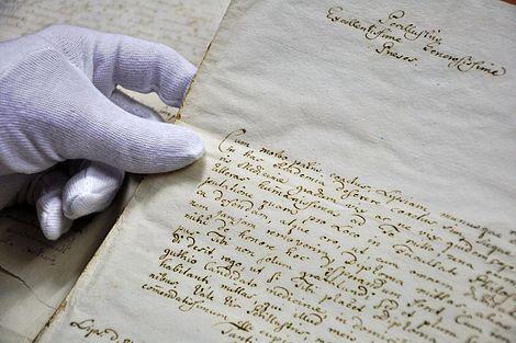 Leopoldina-Archiv erwirbt wertvolles Briefkonvolut 2014 Fotos der Briefe aus dem Leopoldina-Archiv Fotos: Leopoldina-Archiv