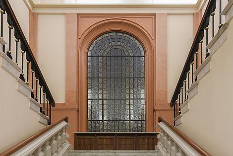 Neues Nordfenster des Leopoldina Hauptgebäudes Foto: Thomas Meinicke