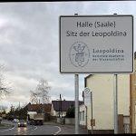 Hinweisschild Leopoldina B6