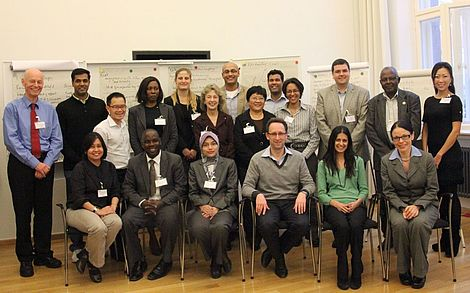 Young Physicians Leadership Programme 2012 Gruppenbild der Teilnehmenden des YPLP