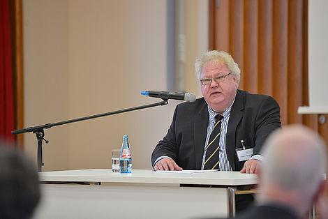Leopoldina-Symposium 2014 Prof. Rüdiger von Bruch Foto: Markus Scholz