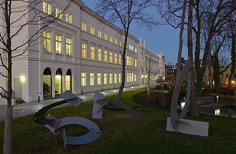 Kunstwerk der Bildhauerin Irmtraud Ohme 2014 Skulpturengruppe Topoi Foto: Markus Scholz