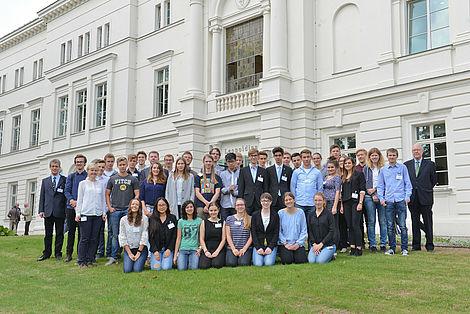 Schülerprogramm anlässlich der Jahresversammlung 2016 TeilnehmerInnen des Schülerprogramms 2016 Foto: Markus Scholz
