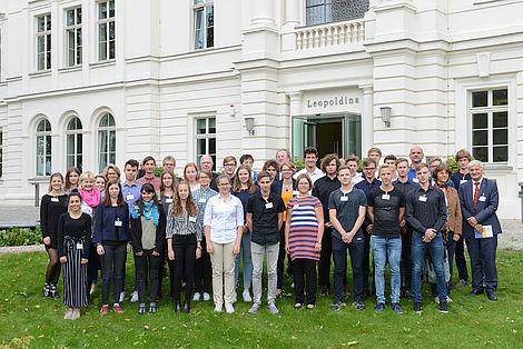 Schülerprogramm 2018 TeilnehmerInnen des Schülerprogramms 2018 Foto: Markus Scholz