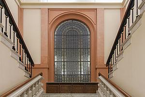 Neues Nordfenster des Leopoldina Hauptgebäudes
