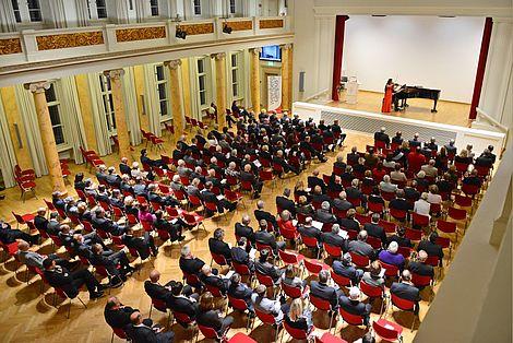 Neujahrsempfang 2014 Blick in den Festsaal Foto: Markus Scholz
